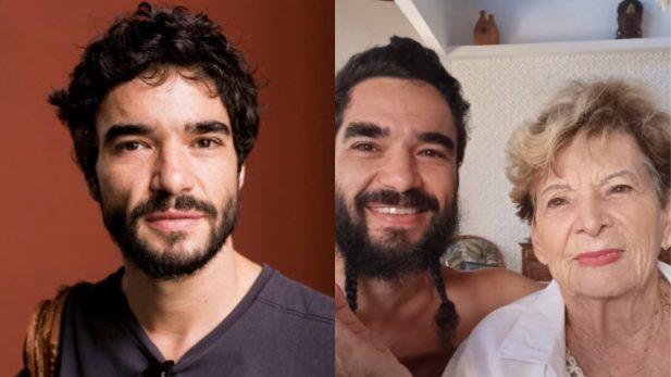 """Avó de Caio Blat envia áudio com opinião sincerona sobre aparência do neto: """"A sua foto está péssima"""" (Foto: Reprodução Instagram)"""