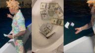 Rapper Kodak Black enfurece internautas após jogar dinheiro no oceano e na privada. (Reprodução/Redes Sociais)