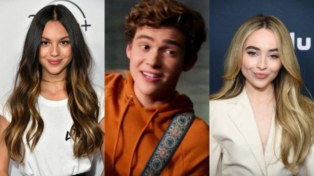 """Joshua Bassett reage ao álbum de Olívia Rodrigo, """"Sour"""", e rebate rumores de triângulo amoroso com Sabrina Carpenter. (Getty/Disney+)"""