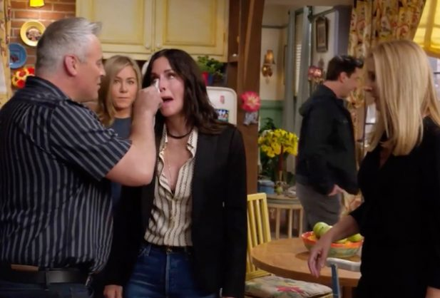 Friends Reunion Crying