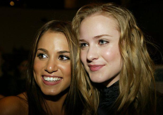 """As atrizes foram co-estrelas no filme """"Aos Treze"""", de 2003. (Foto: Getty)"""