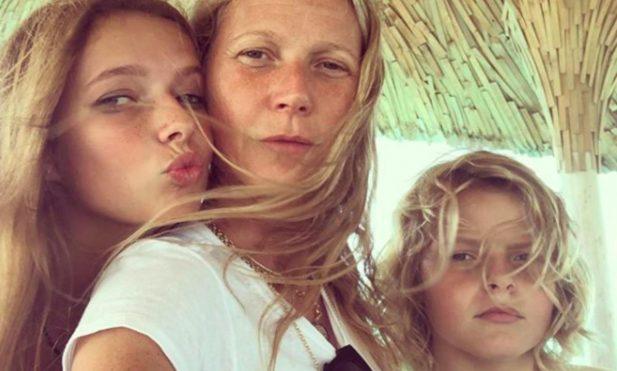 Gwyneth Paltrow Daughter Apple T