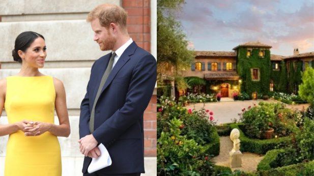Ossos humanos são encontrados próximos da mansão de Harry e Meghan Markle (Foto: Getty/santabarbarasluxuryhomes.com)