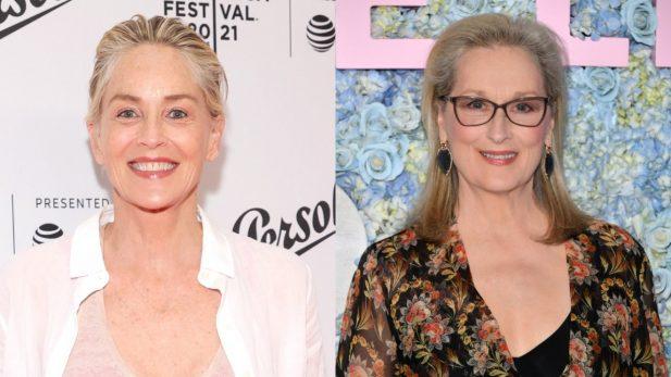 """Em entrevista, Sharon Stone diz que Meryl Streep é uma atriz superestimada: """"Sou uma vilã muito melhor"""". (Getty)"""