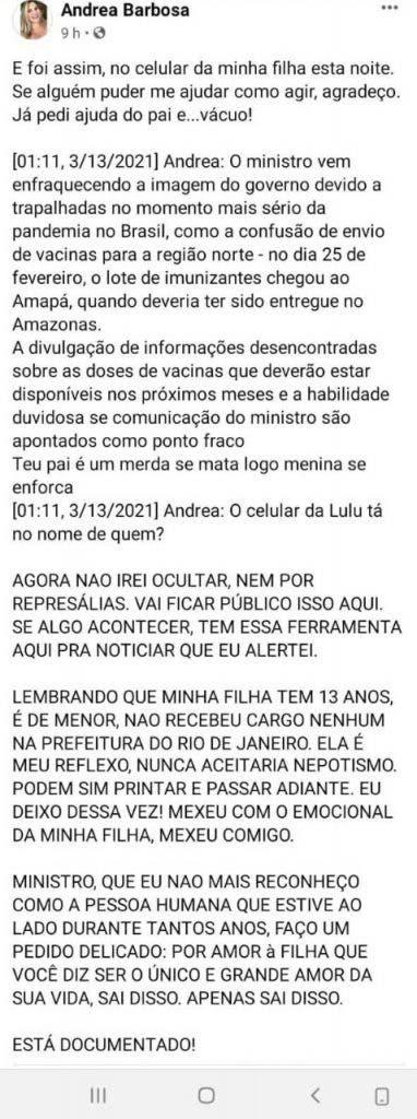 Post Andrea Barbosa