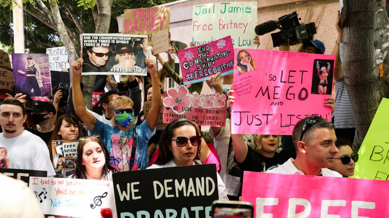 Protestos Free Britney