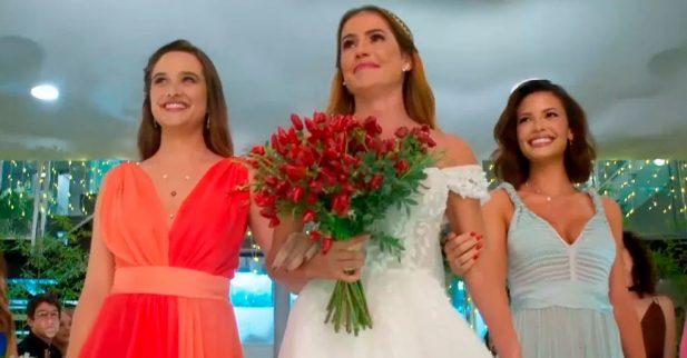 Alexia Deborah Secco Se Casara Em Salve Se Quem Puder