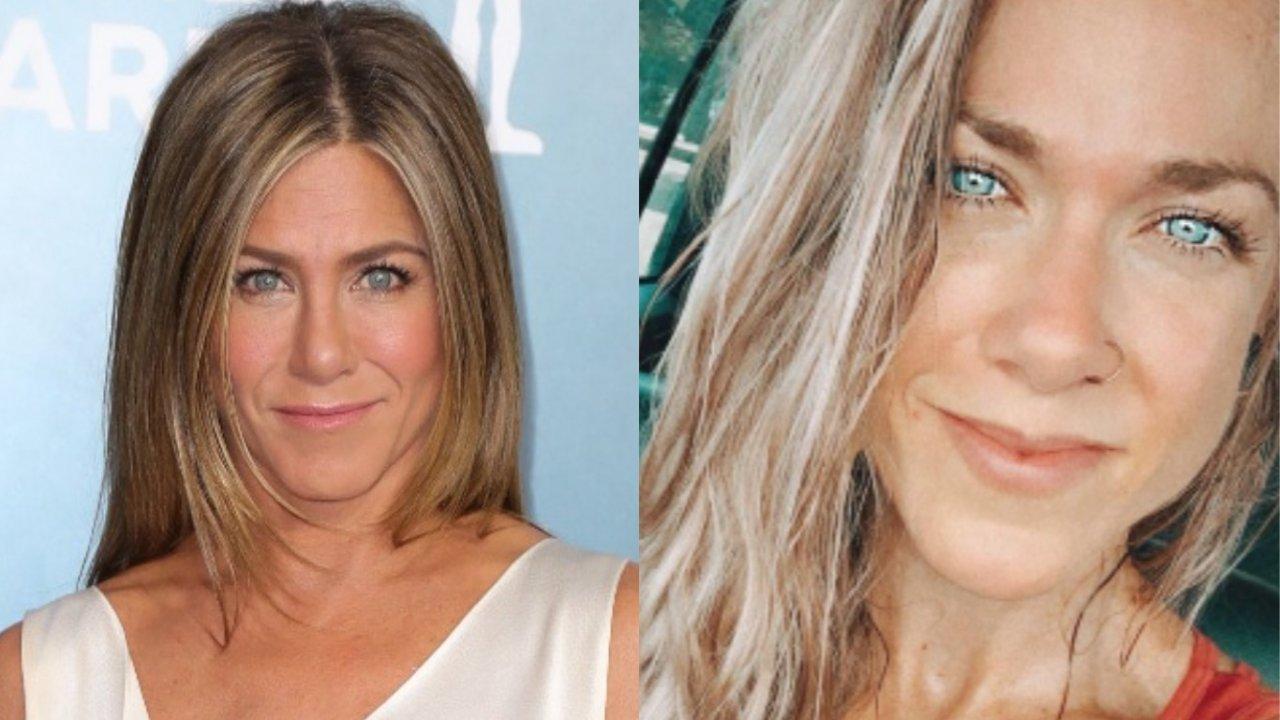TikToker dubla Jennifer Aniston e viraliza por semelhança com a atriz. (Foto: Getty/Instagram)