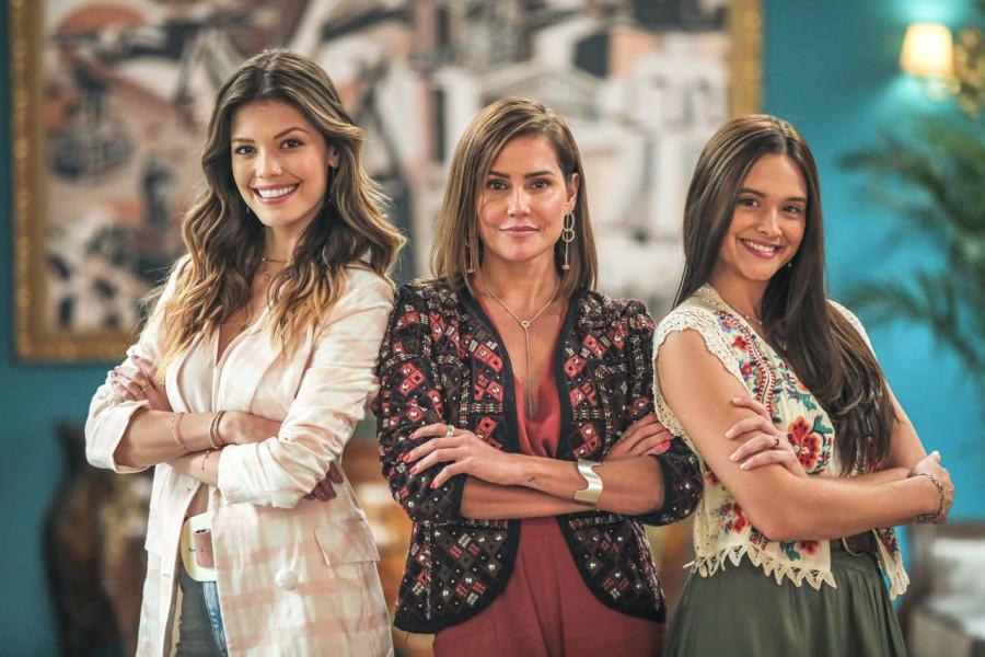 Descubra quem vai ajudar Luna e Kyra a tomarem uma decisão no amor. (Foto: Globo/Divulgação)