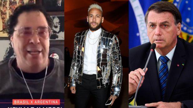 Casagrande Neymar Bolsonaro