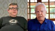 Filho biológico de Cid Moreira acusa pai de abandono afetivo. (Reprodução Record TV/Instagram)