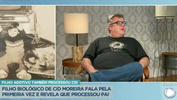 Rodrigo revelou que já entrou na justiça contra o pai por abandono afetivo. (Reprodução/Record TV)