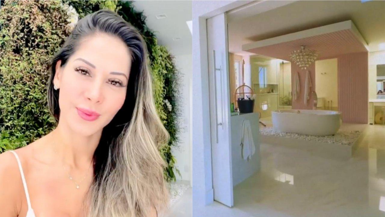 Mayra Cardi surpreende ao exibir suíte. (Reprodução/Instagram)