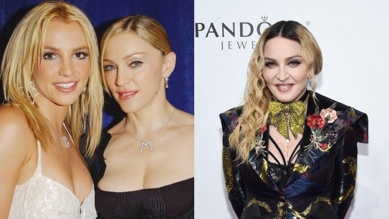 Caso Britney Spears: Madonna faz post em defesa da cantora. (Foto: Getty)