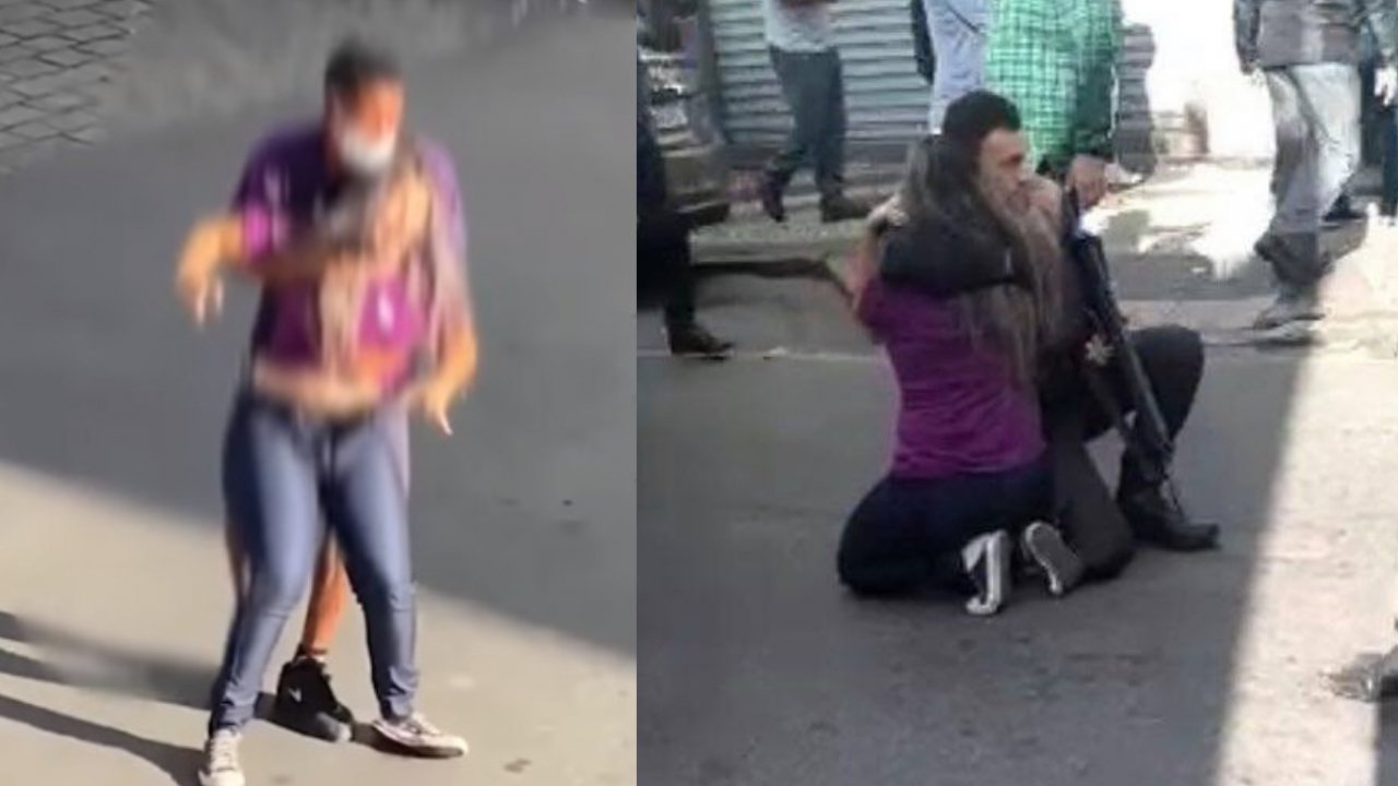 Funcionária de loja é feita refém durante assalto em Angra dos Reis, e  criminoso é morto por policial à paisana; assista | Hugo Gloss