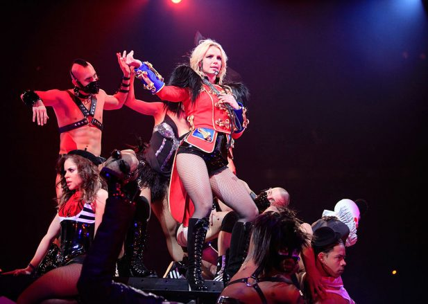 """""""the Circus Starring Britney Spears"""" Tour Opens In New Orleans"""