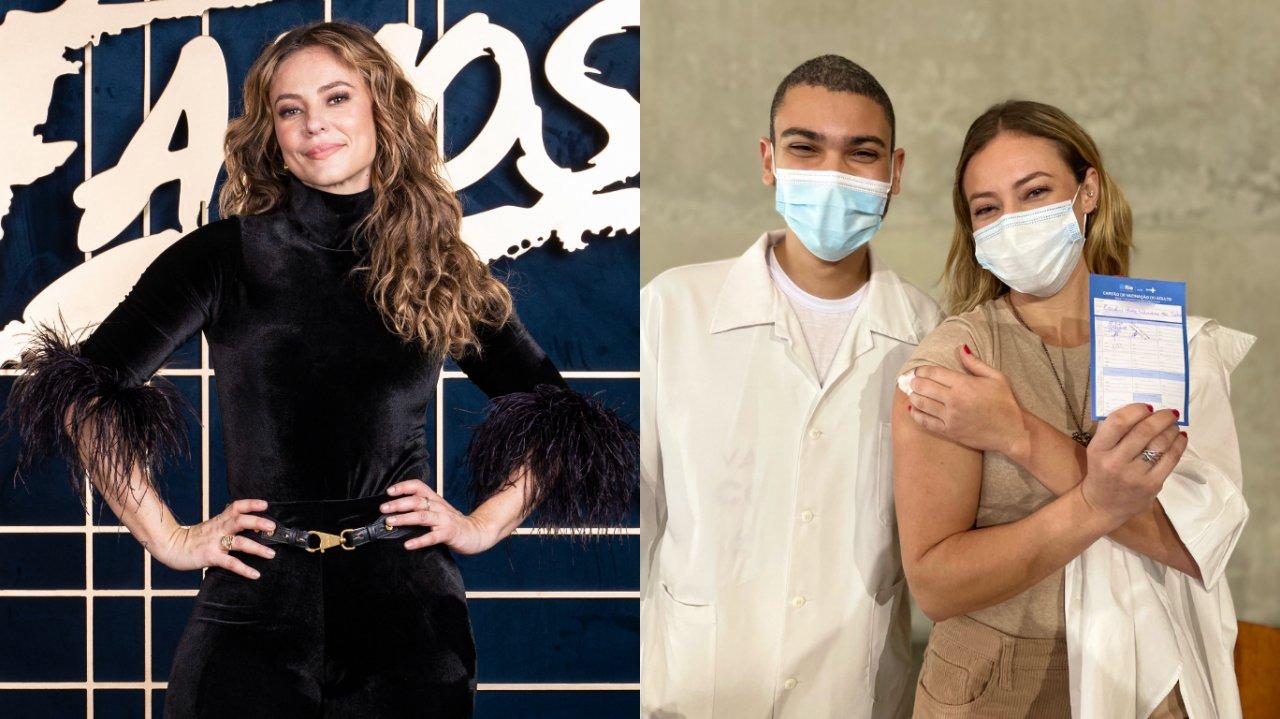Paolla Oliveira Vacina