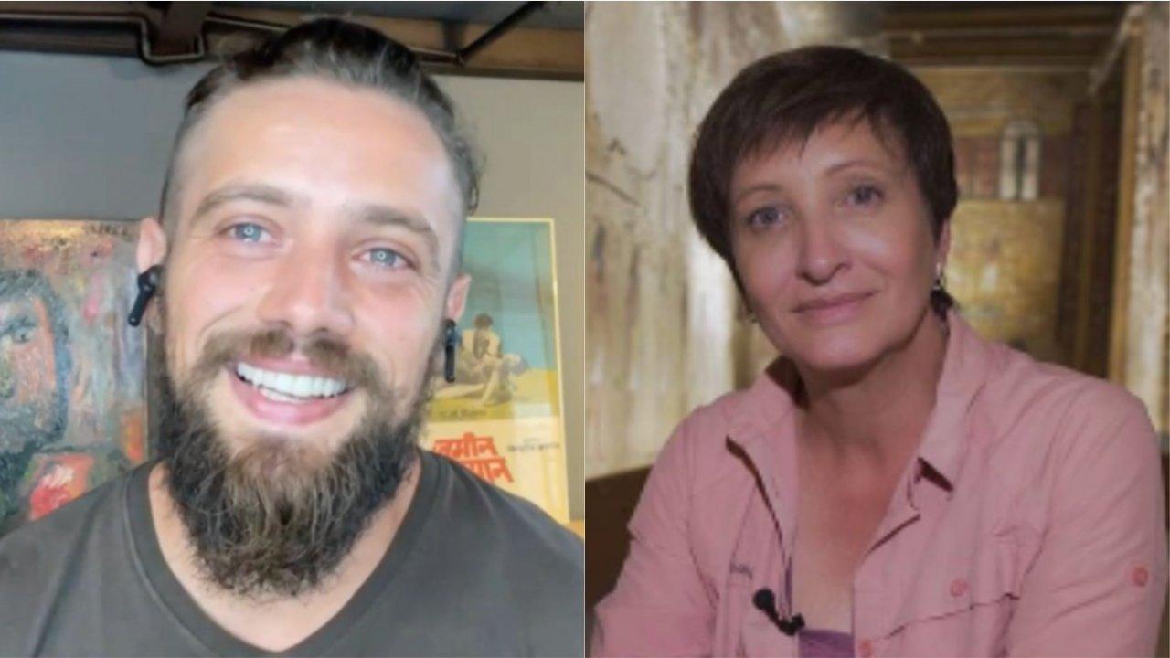 Rafael Cardoso recebe homenagem da sogra, Sônia Bridi, e se emociona ao vivo ao recordar como ela ajudou a salvá-lo. (Globo/Instagram)