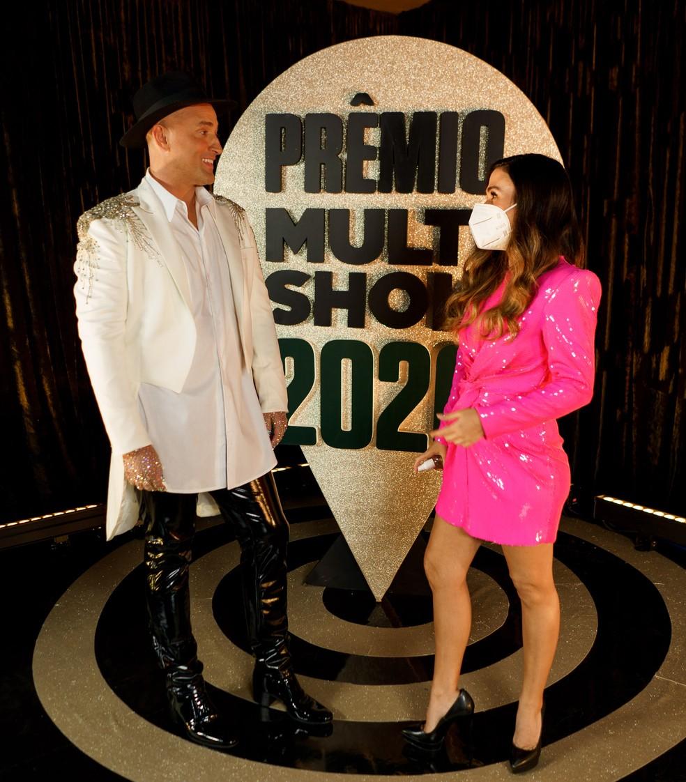 Tata Werneck Paulo Gustavo Premio Multishow Hate Flahs