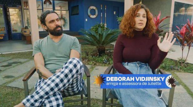 Deborah Vidjinsky no quinto episódio no documentário que conta a história de Juliette. (Foto: Reprodução/Globoplay)