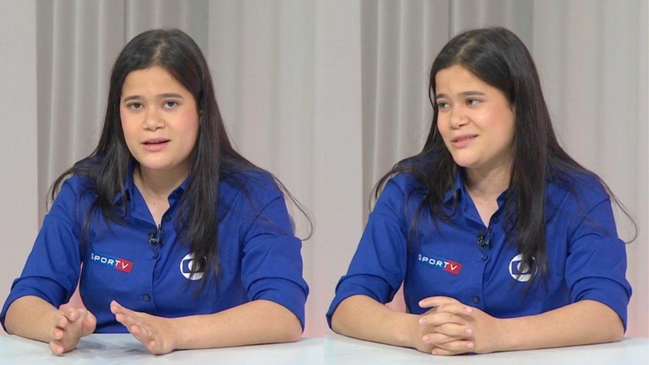 Verônica Hipólito conquista o público com comentários certeiros nos Jogos Paralímpicos. (Reprodução/SporTV)
