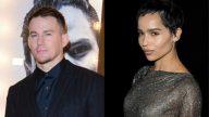 Channing Tatum e Zoë Kravitz são fotografados em passeio romântico por NY. (Getty)