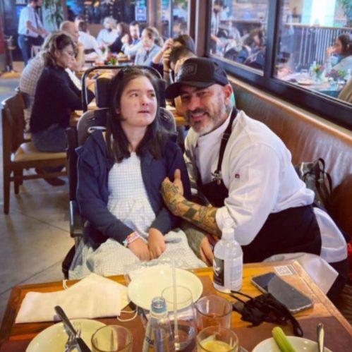 Olivia Fogaça é portadora de síndrome ainda desconhecida. (Foto: Reprodução/Instagram)