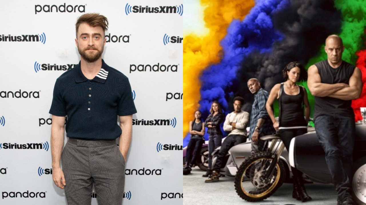 Daniel Radcliffe Velozes