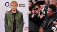 Ed Sheeran Beyonce Jay Z