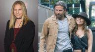 """Barbra Streisand manda shade para a versão de """"Nasce Uma Estrela"""" de Bradley Cooper e Lady Gaga. (Getty/Warner Bros)"""