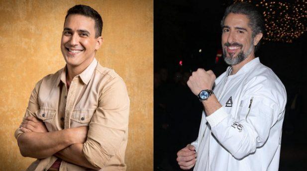 André Marques abre o jogo sobre suposta rivalidade com Marcos Mion. (Globo; João Cotta/Francisco Cepeda; Ag News)
