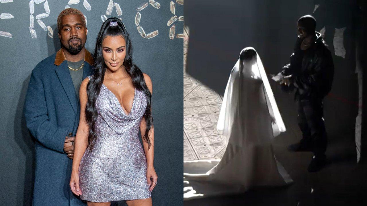 Kim Kardashian Kanye Donda