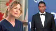 Ellen x Denzel (Reprodução; ABC/Getty)