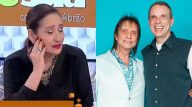 Sônia Abrão se emociona ao vivo ao ser avisada da morte de Dudu Braga. (Reprodução; Instagram/ Raquel Cunha; TV Globo)