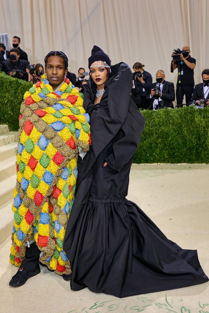 A$AP Rocky e Rihanna (Foto: Getty)