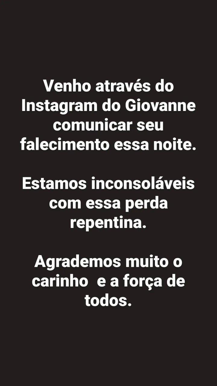 Gs.sertanejo's Instagram 2021 8 1 Story