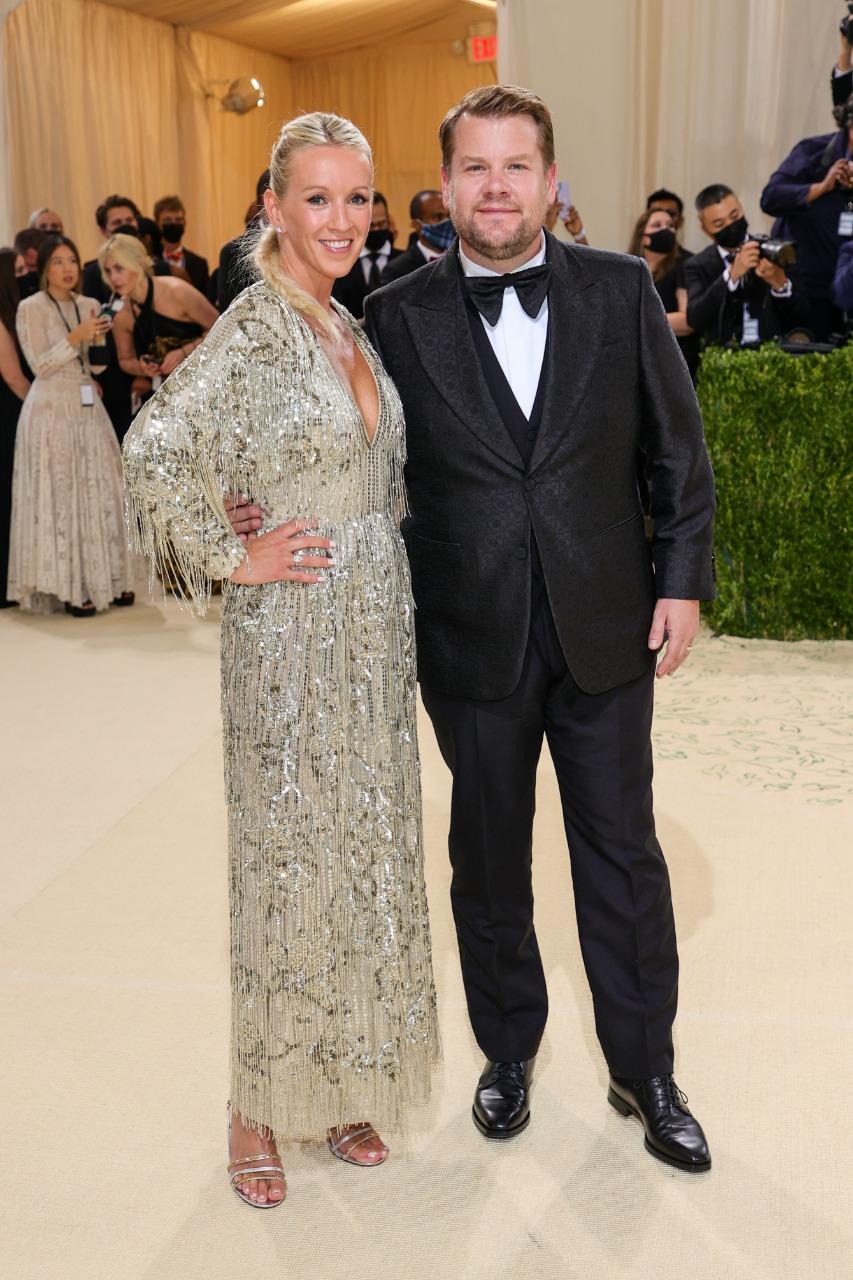 Julia Carey e James Corden (Foto: Getty)