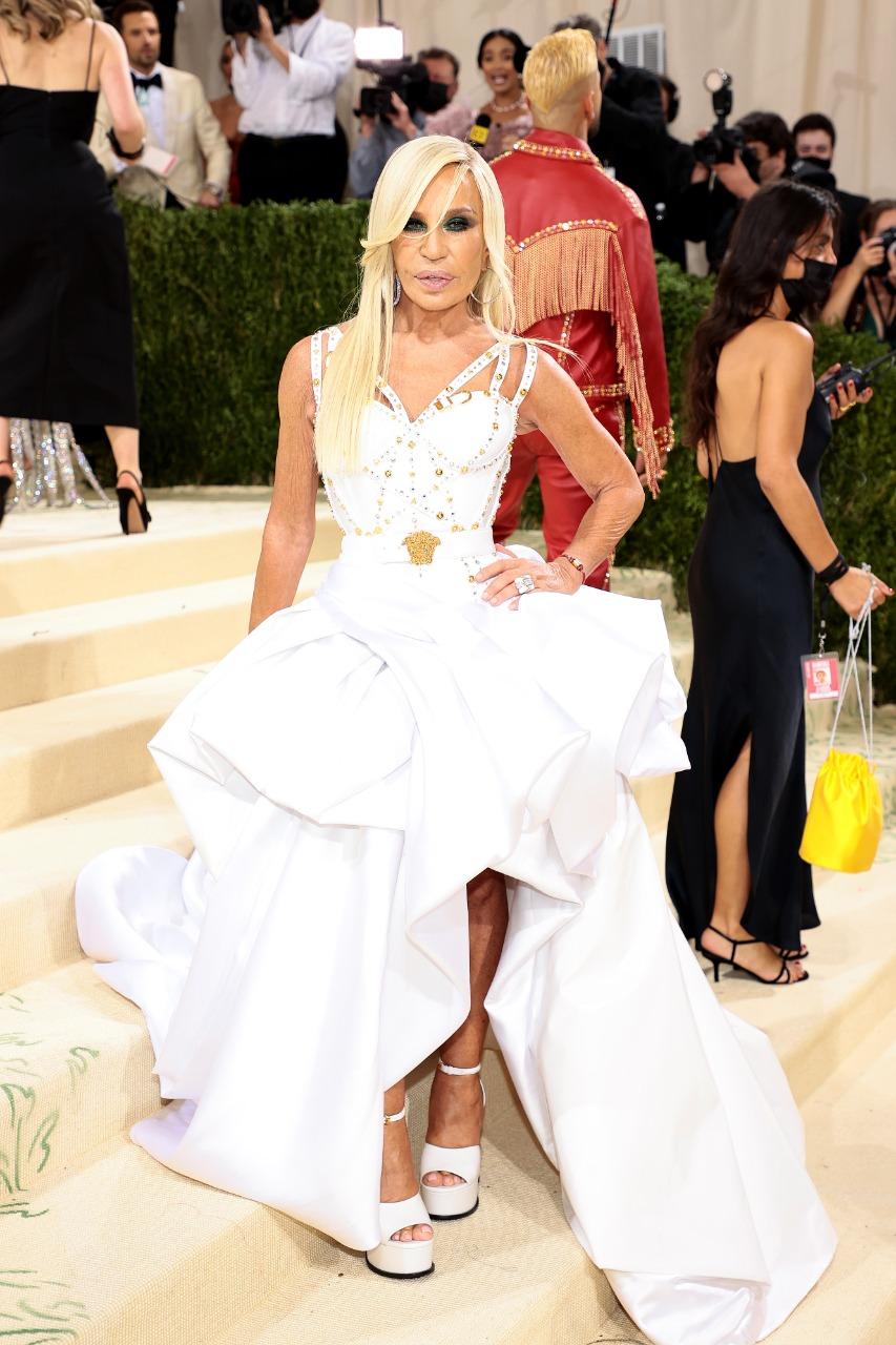 Donatella Versace (Foto: Getty)