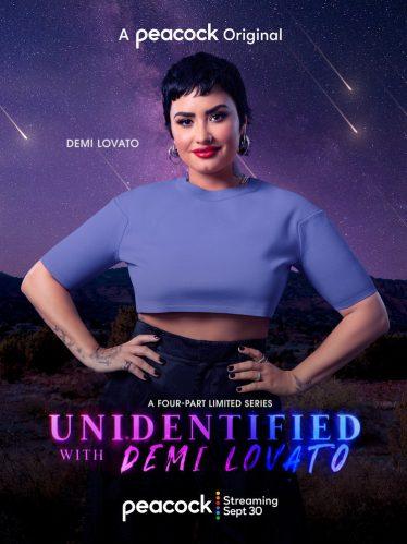 Demi fala sobre contato com ET's em nova série. (Foto: Divulgação/Peacock)
