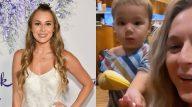 """Filho de Alexa PenaVega, atriz de """"Pequenos Espiões"""" perde dedo em acidente doméstico. (Instagram/Getty)"""