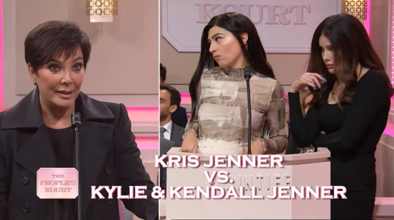 Kim Kardashian Snl7