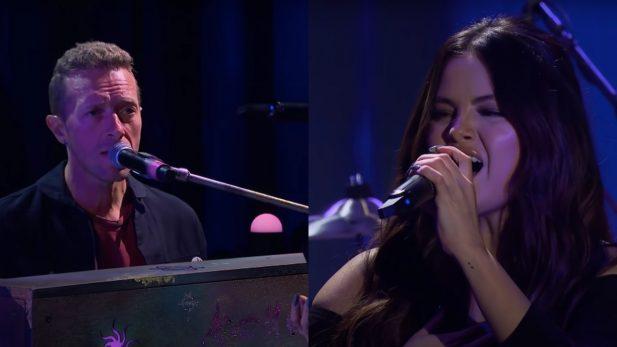 Selena Gomez Let Somebody Go Coldplay